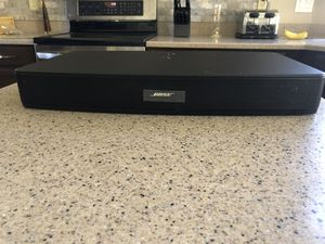 Bose solo TV speaker. No remote $75 I also have two Bose wired cube type speakers $40 for Sale in Phoenix, AZ
