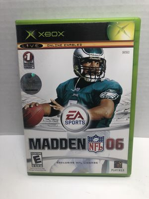 XBOX Madden NFL Football 2006 complete with manual for Sale in Los Angeles, CA