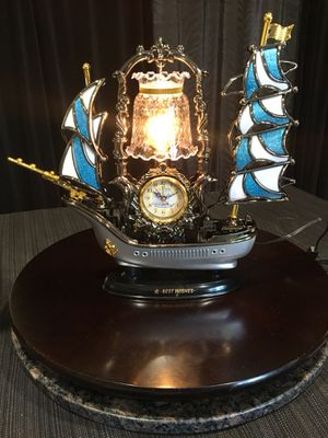 "Beautiful Ship & Alarm Clock - Light 16""X12"" for Sale in Santa Ana, CA"