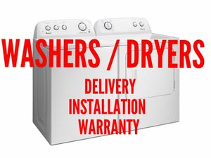 Washers & Dryers - Delivery/Installation/Warranty for Sale in South Zanesville, OH