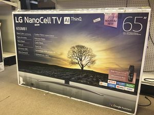 Smart Tv SALE! LG 65 inch smart Wi-Fi built-in 4K Bluetooth NanoCell 8100 Series $649 for Sale in Duluth, GA