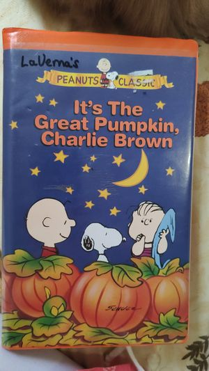 FREE It's The Great Pumpkin, Charlie Brown VHS for Sale in Aberdeen, WA