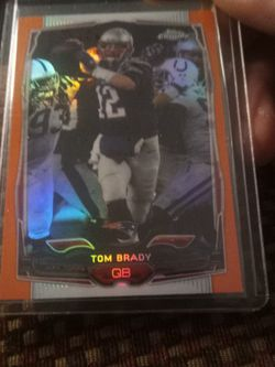Tom Brady 2014 Topps Chrome & 2015 Air Marshals Card for Sale in Everett,  WA