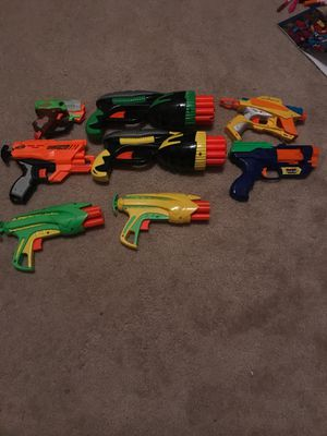 Eight Nerf guns for Sale in Triangle, VA