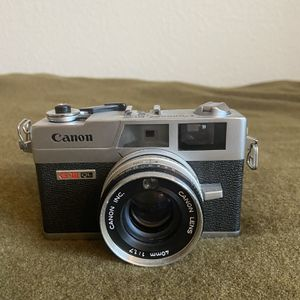 Canon Canonet QL17 - for parts/not working for Sale in Chino Hills, CA