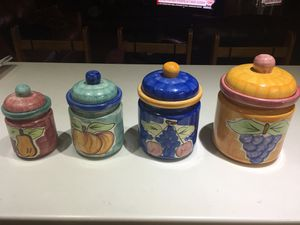 Kitchen Ceramic Containers for Sale in Miami, FL