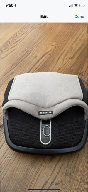 Home medics heated and massaging foot rest NWOB for Sale in Moseley, VA