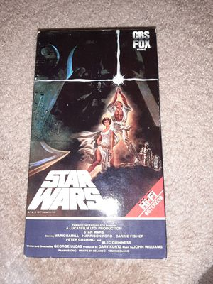 Star Wars. original vhs movie for Sale in Saugus, MA