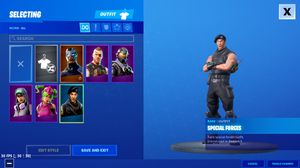 Fortnlte account trade for Sale in FLORENCE VILL, FL