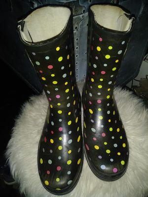 Girls size 5. Rain boots for Sale in San Bernardino, CA