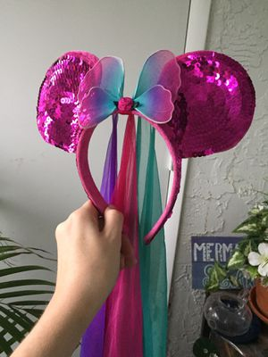 Disney Parks Fairy Minnie Mouse Ears for Sale in Largo, FL