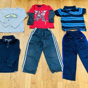 Boys Athletic Clothes 4 T Set ,6 pieces, excellent clean condition for Sale in Beaverton, OR