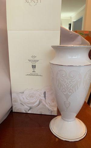 Lenox wedding vase for Sale in Alexandria, VA