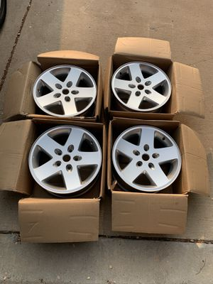 2007-2018 Jeep Wrangler Rims OEM - Like New for Sale in Little Elm, TX