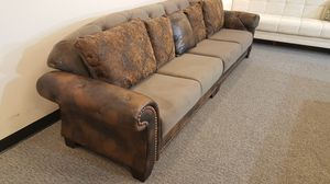 Extra Long European Sofa Bed With Storage for Sale in Niles, IL