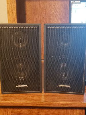 Audio Source Book Shelf Speakers for Sale in Fresno, CA