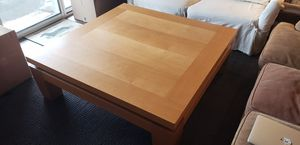 MOVING SALE - Very Large Solid Wood Coffee Table for Sale in Denver, CO