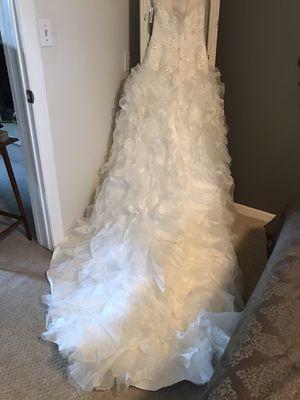 Wedding dress never worn, never altered! for Sale in Salt Lake City, UT