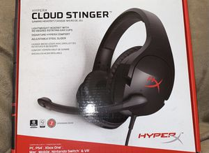Hyper X Cloud Stinger gaming headset (Brand New) for Sale in Selma, CA
