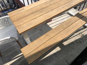 Patio set - table, bench, chairs - outdoor furniture for Sale in New York, NY