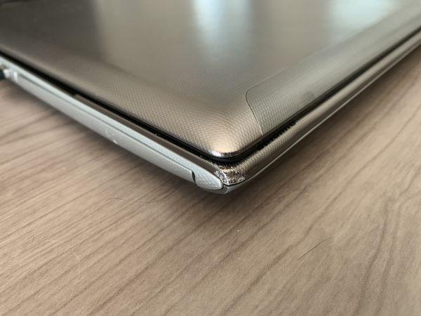 Toshiba laptop - i5/8gb/256gb SSD and 750gb hd