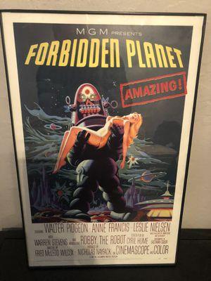 "Forbidden Planet Miniature Movie Poster 11""x17"" for Sale in Clovis, CA"