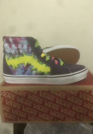 Tie Dye Vans Sneakers for Sale in Philadelphia, PA