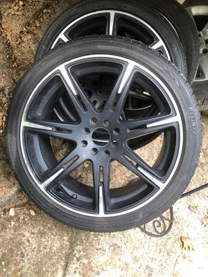 Black and chrome rims for Sale in Chester, VA