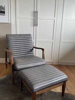 Room and Board Callan Chair & Ottoman for Sale in Seattle,  WA