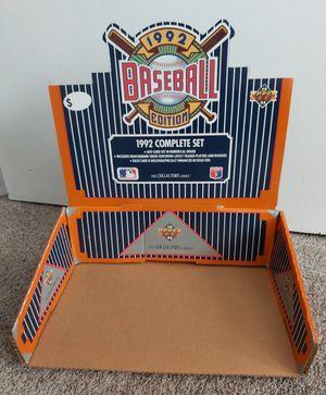 1992 Upper Deck Baseball Card Set counter Store Display for Sale in Hemet, CA