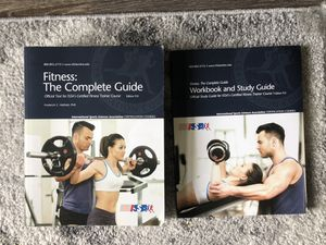 ISSA:Certified Fitness Trainer Texbook and Study Guide for Sale in Frederick, MD