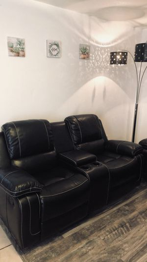 Leather recliner couches for Sale in Hayward, CA