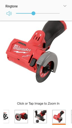 Brand new in box. Milwaukee M12 FUEL 12-Volt 3 in. Lithium-Ion Brushless Cordless Cut Off Saw (Tool-Only) for Sale in Austin, TX