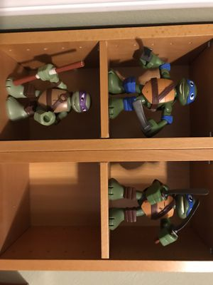 Ninja Turtles Action Figures $15 for all for Sale in Escondido, CA