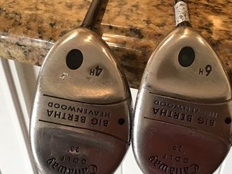 Ladies Callaway hybrid 4 And 6 for Sale in Chandler,  AZ