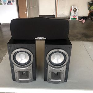 Klipsch Home Theater Speakers W/ Center Speaker for Sale in Murrieta, CA