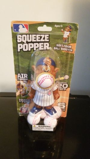 2016 Hog Wild Chicago Cubs Squeeze Popper Toy for Sale in Melrose Park, IL