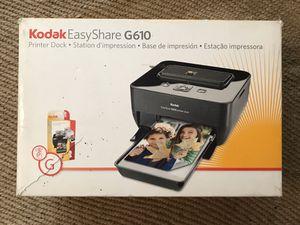 Kodak EasyShare Printer Dock And Digital Camera Bundle C633 + G610 No Camera for Sale in Whittier, CA