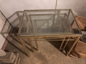 Glass tables for Sale in Saugus, MA