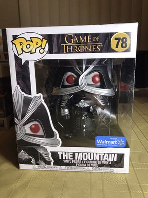 """Funko Pop 6"""" The Mountain (masked) Game of Thrones Walmart exclusive for Sale in Los Angeles, CA"""