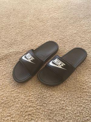 Nike slides (size 10) for Sale in Virginia Beach, VA