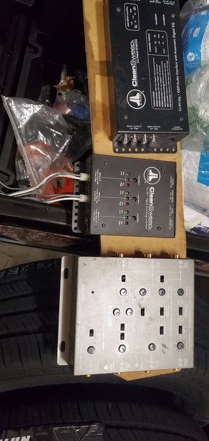 JL audio clean sweep with coustic crossover xm5e for Sale in Wetumpka, AL