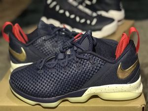 Nike Lebron 14 Navy Low for Sale in Everett, WA