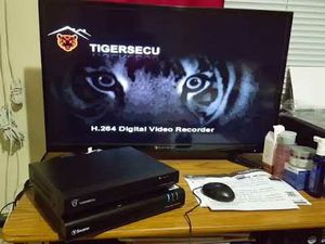Tigersecu 4 channel DVR for Sale in Walnut Cove, NC