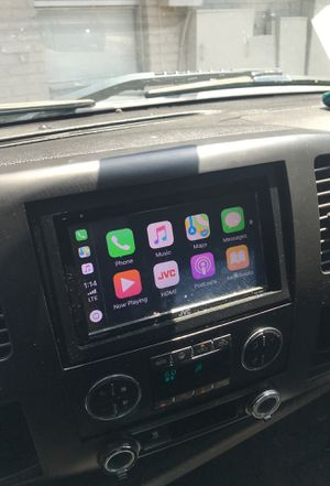 Jvc CarPlay touch screen radio for Sale in Fort Worth, TX