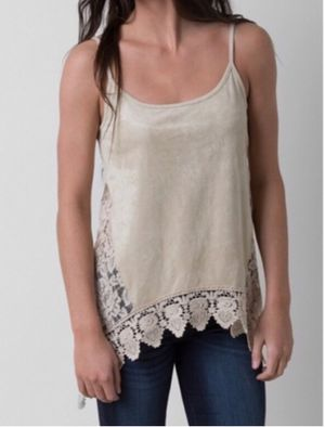 Buckle Coco + Jaimeson Lace Asymmetrical Tank for Sale in Bartlesville, OK