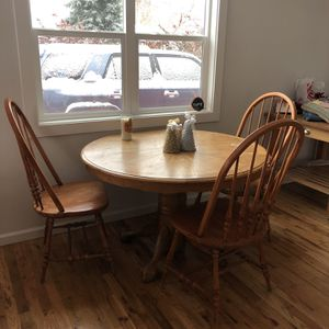 Dining Table and 4 Chairs for Sale in Arvada, CO