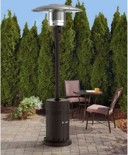 BRAND NEW 40000-BTU Stainless Steel Patio Heaters With Wheels for Sale in Walnut,  CA