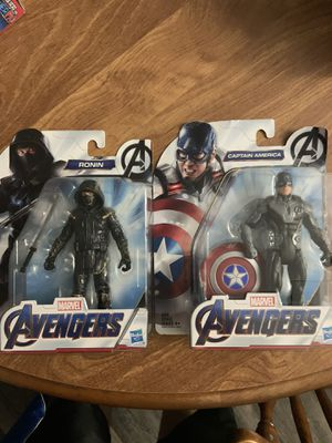 Avengers 6 in action figures for Sale in Lorain, OH