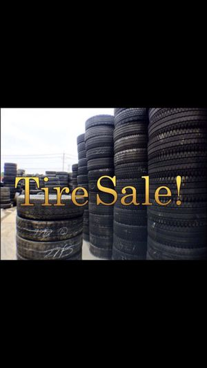 Tractor Trailer Tires All Sizes All Models, Low Prices!!!! for Sale in Morrisville, PA